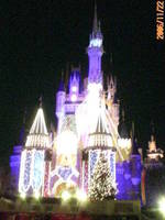 東京ディズニーランド(TDL)クリスマスファンタジー2006 シンデレラ城